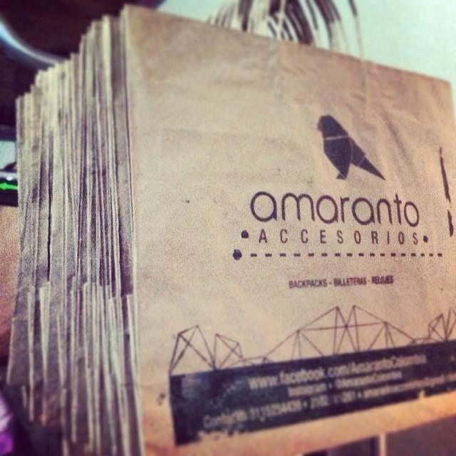 Amaranto Paper bags