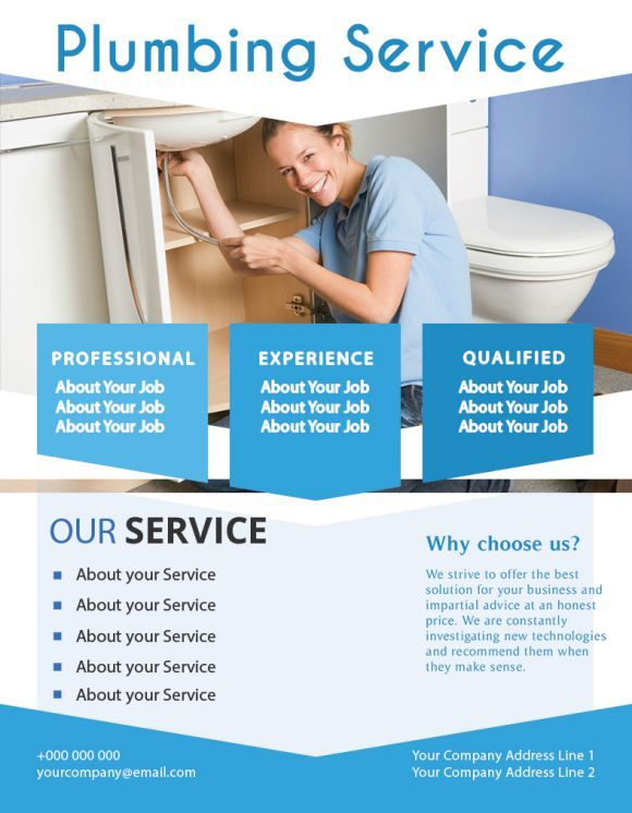 20 Free Plumbing Flyers To Skyrocket Your Plumbing Business