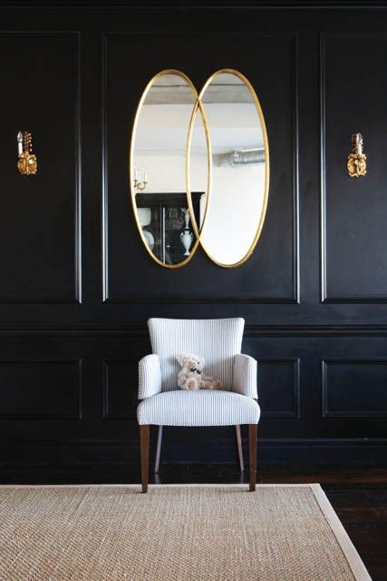 17 best ideas about black walls on pinterest black Room with black walls