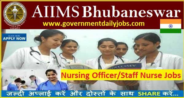 AIIMS Bhubaneswar Recruitment 2017 for 927 Staff Nurse Posts | Apply Online