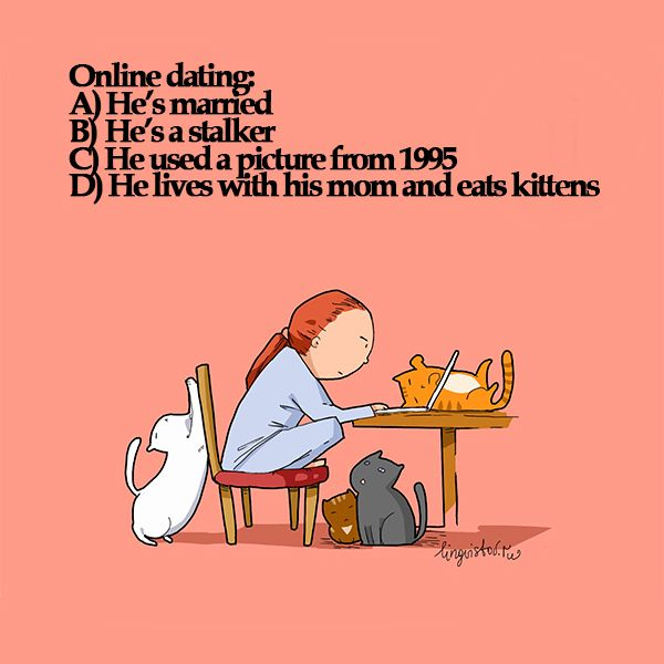Online dating cat girl