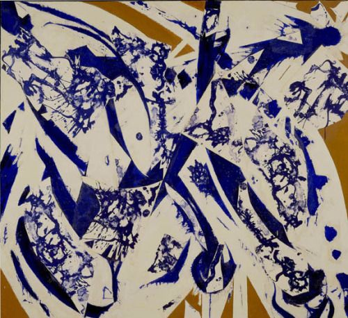 """ To The North, Lee Krasner, 1980 """