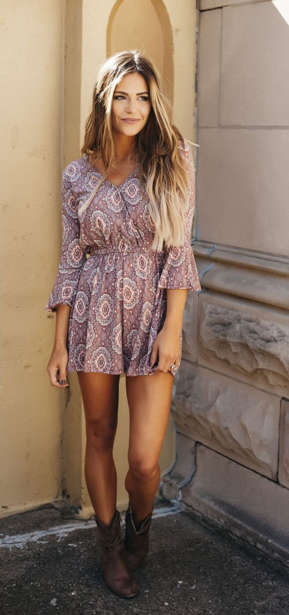 Summer country style long dresses