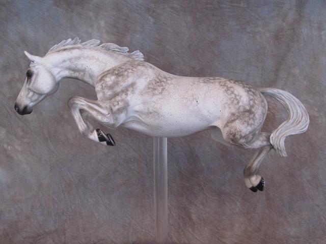 Grey - custom model horses