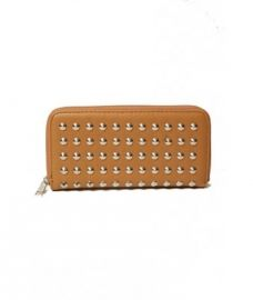 W001 Wallet Studded Camel