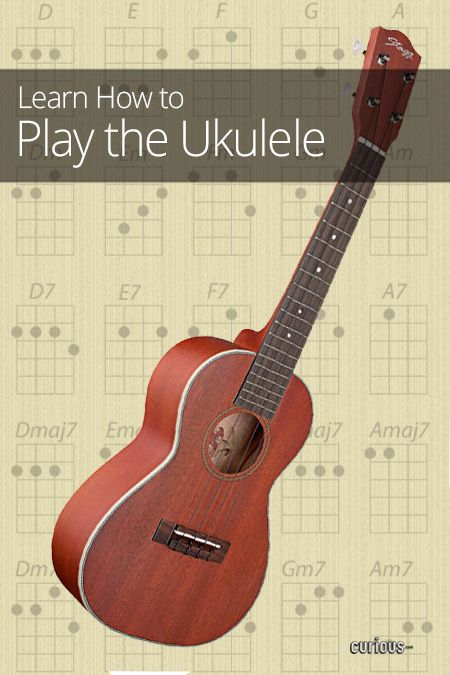 Pinterest's own Kent Brewster is going to play his uke in front of a live audience this year.