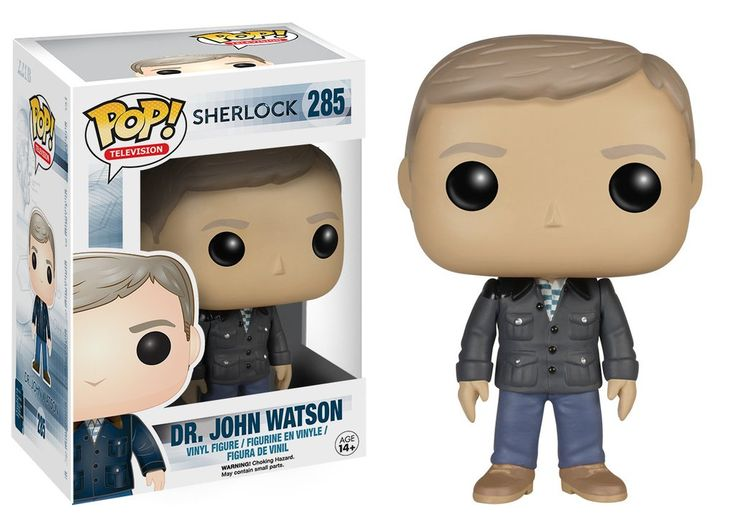 Pop! TV: Sherlock - Dr. John Watson