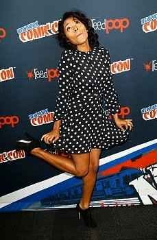 "Nicole's poses in general. | 20 Times The Cast Of ""Sleepy Hollow"" Proved They Are Utterly Adorable"