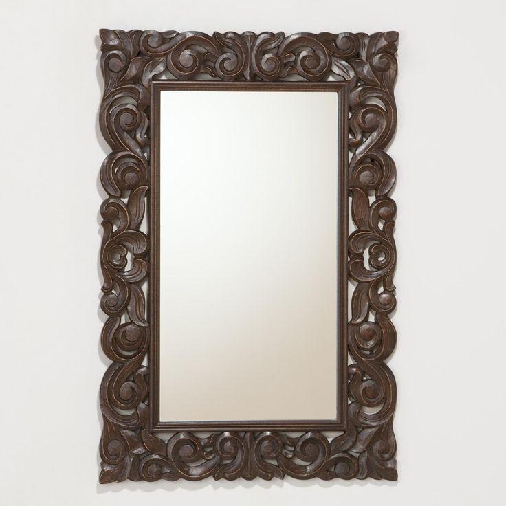 140 Tegan Carved Mirror World Market