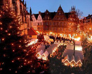 Weihnachtsmarkt in Münster