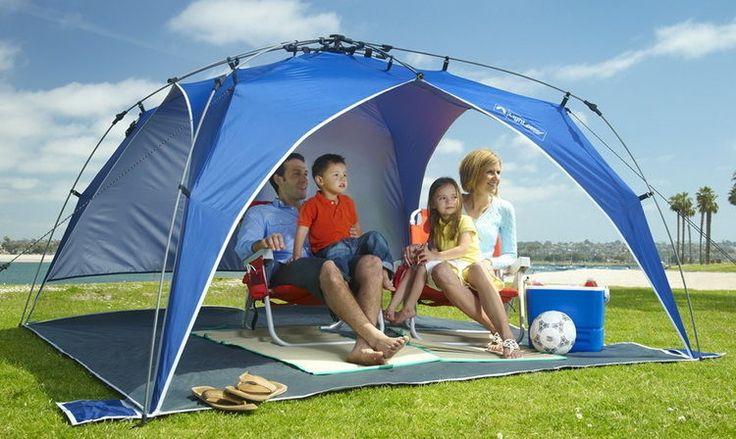 Outdoor Beach Backyard Portable Tent Shelter Pop Up Sun Light Shade Protection #Lightspeed