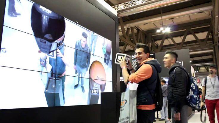 Blauer Helmets Augmented Reality @ EICMA 2012
