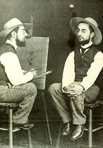 Born in 1864, Henri de Toulouse-Lautrec is one of the most respected French painters of the post-impressionist period. He illustrated the colorful and whimsical life of Paris, often compared to his contemporaries, Cezanne, Van Gogh, and Gauguin. He was prolific, despite his devotion to cocktails. His compelling and romantic scenes of the theatrical life make him famous.