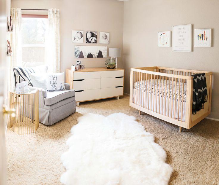nursery ideas for a neutral color palette