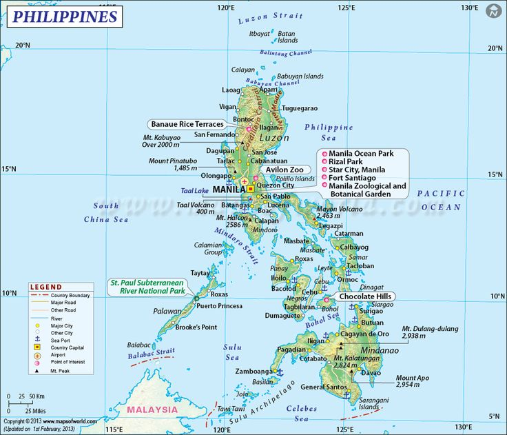 map of philippines with cities - Google Search | MAPS | Pinterest ...