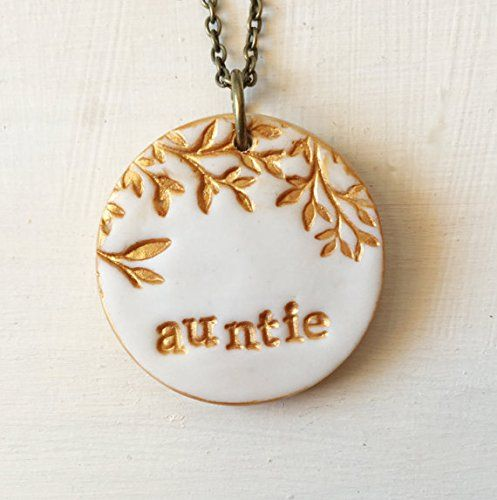 Aunt Necklace, for Aunt, Aunt Gift, My favorite Auntie, For Aunt on Mother's Day, Nephew, Niece, Aunt's Birthday