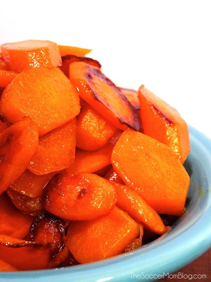 How to make amazing sweet & savory Glazed Carrots with only a can of ginger ale.