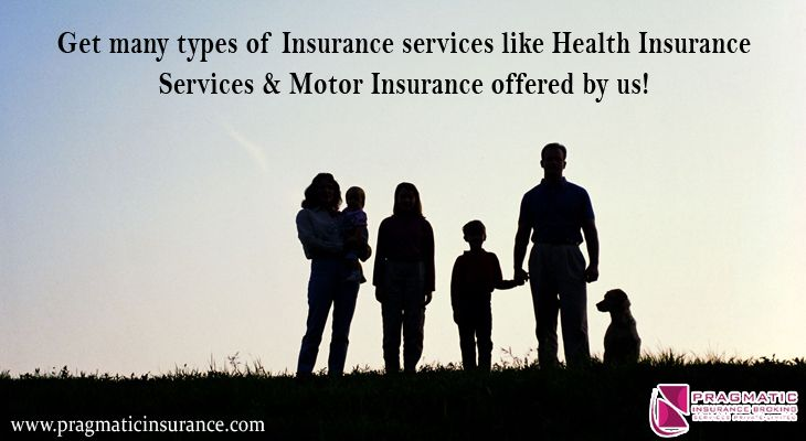 Get many types of insurance services like health insurance
