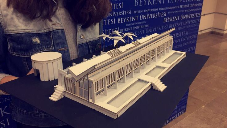 Neugebauer House Model-Scale 1/100