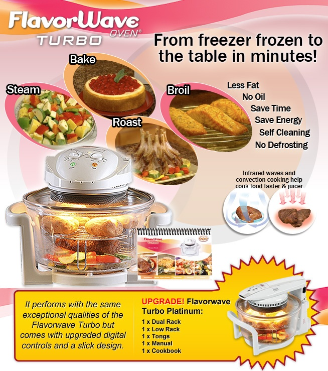 Flavor Wave Cooker ~ Images about flavorwave turbo oven on pinterest