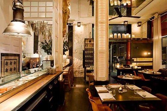 Euorpean Restaurant Design Concept Classic European Interior Design In Seafood Restaurant By