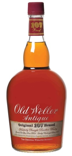 Old Weller finally has a spot in our liquor cabinet.