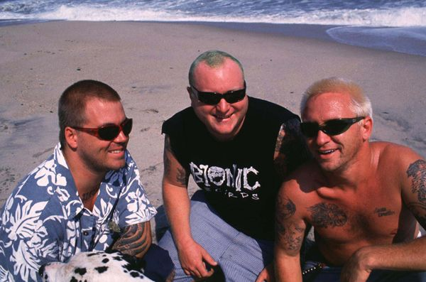Bradley Nowell, Eric Wilson and Bud Gaugh of Sublime