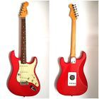 Fender USA Mark '62' Mark Knopfler Stratocaster Hot Rod Red Electric Guitar OHSC