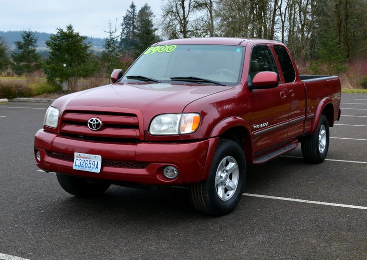 2002 Toyota Tundra Access Cab Limited Pickup 4D 6 1/2 ft $9,200 call (360) 718-7940 for details www.4-Hautosales.com