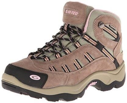 Traverse wet terrain in comfort with the Hi-Tec® women's Bandera Mid WP hiking  boots -- their waterproof Dri-Tec® membrane and moisture-wicking lining  will ...