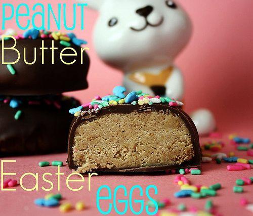 Pb eggs: Holiday, Butter Eggs, Recipe, Homemade Peanut, Butter Easter, Easter Eggs, Easter Food, Peanut Butter, Dessert