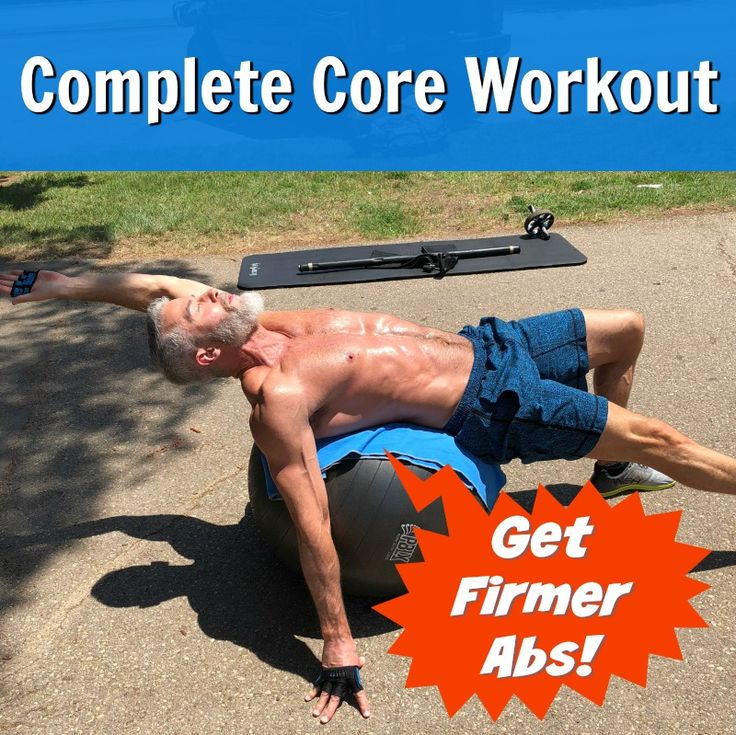 Stronger Abs! 12 Exercises to Firm Your Core Muscles