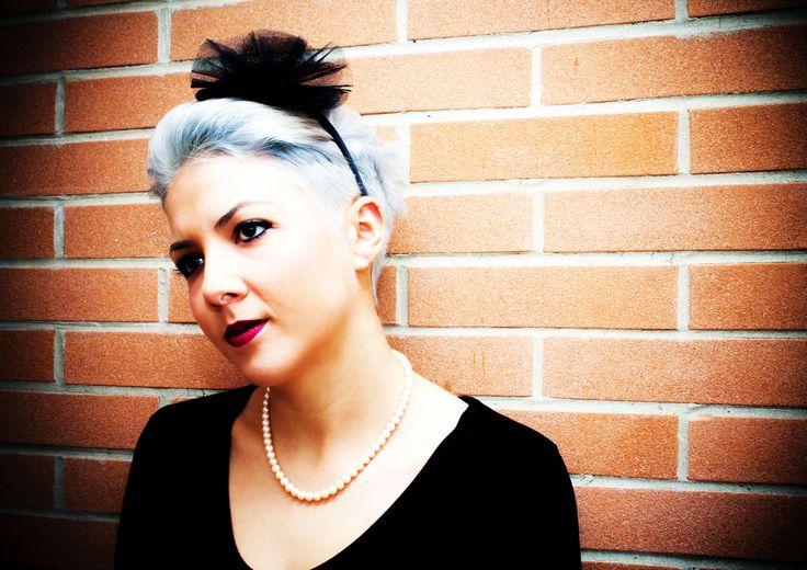 Fascinator realizzato a mano. www.vanessavanhandmade.etsy.com  #vanessavan #handmade #fashion #fascinator #hair #accessories