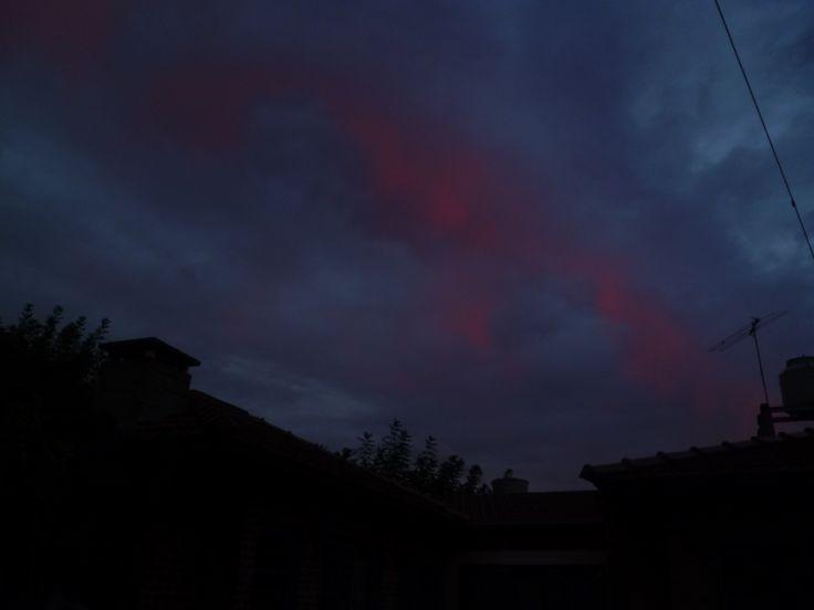 raros colores del cielo