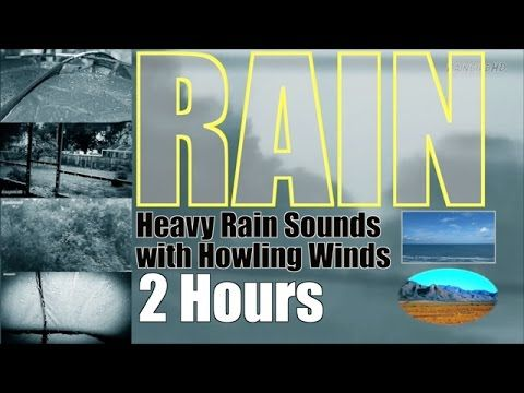 "Heavy Pouring Rain and Thunder and Wind | 2 Hours | ""Rain"" ""Rain Sounds"" ""Sleep Sounds"" - YouTube"