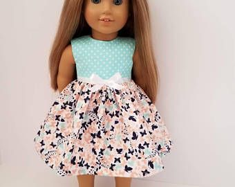 18 Inch Doll-American Girl Dress