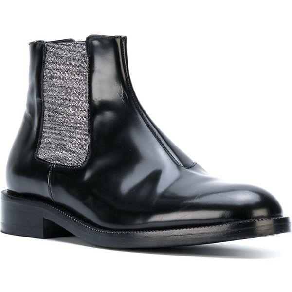 metallic elastic chelsea boot - Black Christopher Kane h7Hda1G