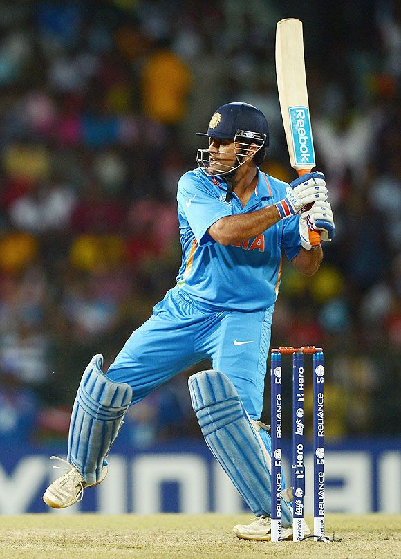 MS Dhoni Finishing Style of the Match.......