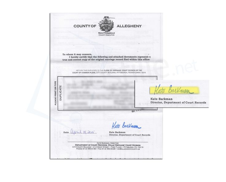 22 best State of Pennsylvania Sample Apostille images on Pinterest - sample marriage certificate