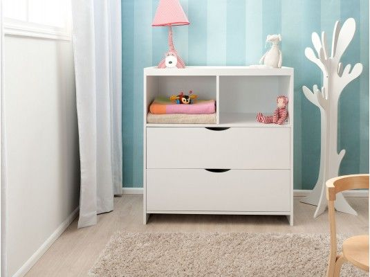 Mocka Change Table With Drawers