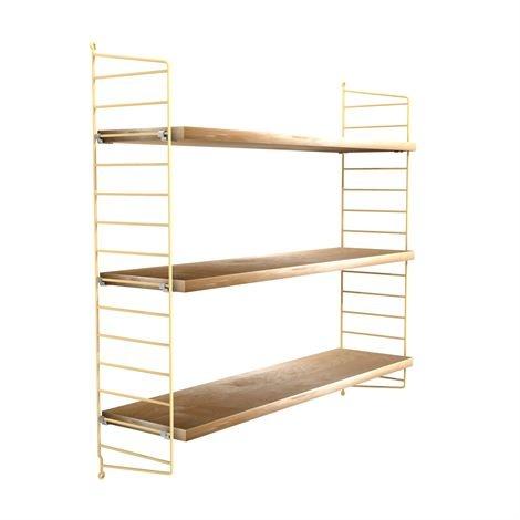 String shelf soft birch-beige