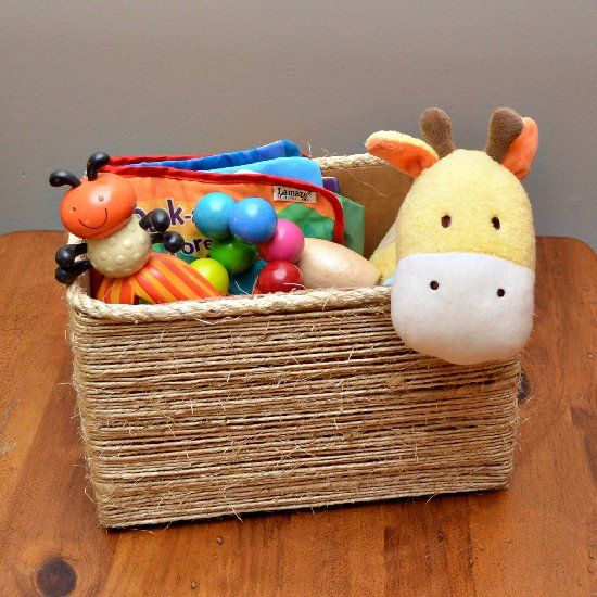 diy storage boxes perfect for toys or anything else
