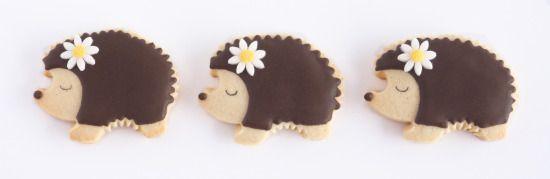 Hedgehog Cookies http://ifeelcook.es/galletas-de-erizos/