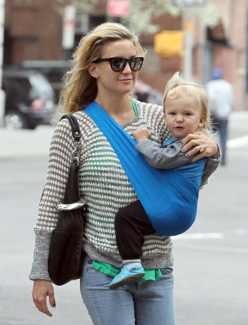 Kate Hudson received a set of the sugarSNAP Files when she was pregnant with Bing, now 21 months.