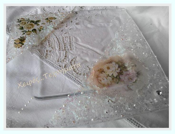 Wedding tray https://www.facebook.com/xeirostechnimata