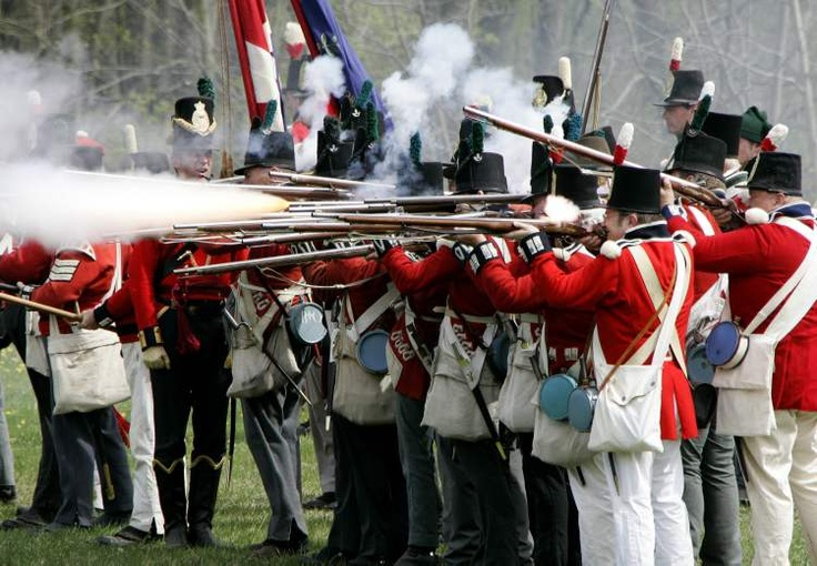 Reenactment for the war of 1812