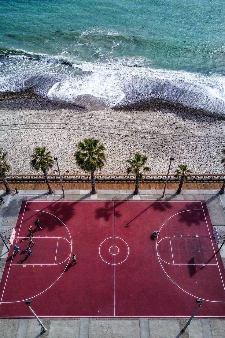 best bball courts images on pinterest basketball court murals