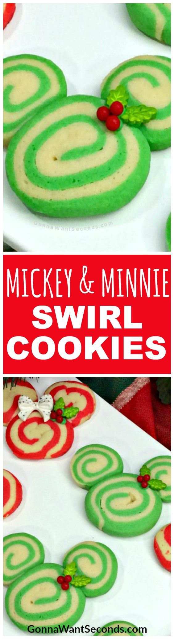 Nothing says Christmas cheer more than swirls of red, green and white everywhere you look – including in the kitchen!