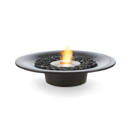 Brown Jordan Fires Cloud Fire Pit Natural Gray