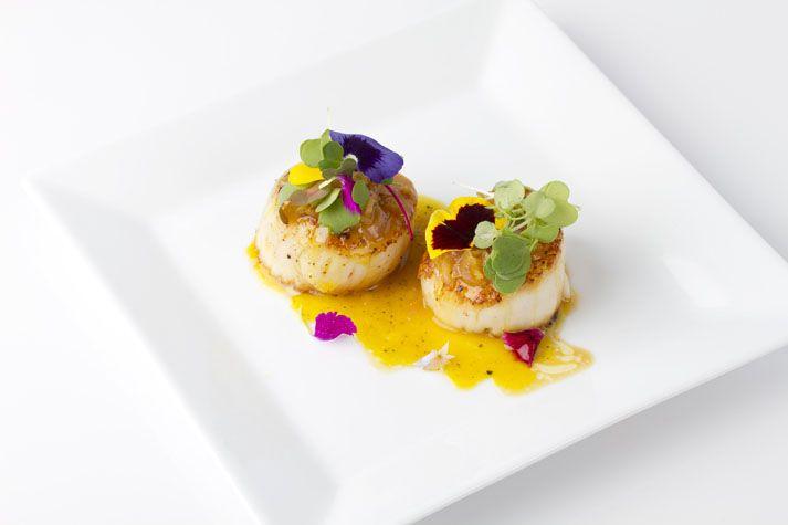 Pétoncles poêlés orange-gingembre | La cuisine de Karine Moniqui